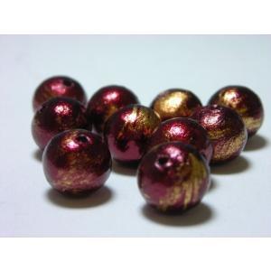 カブキコットンビーズ通し穴 8mm (10ヶ)|beadsshopj4