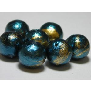 カブキコットンビーズ通し穴 10mm (7ヶ)|beadsshopj4