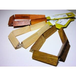 ウッドビーズ 三角柱 10×30mm (5ヶ)|beadsshopj4