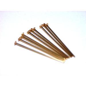 ゴールドフィルド Tピン0.5×19mm (10本) |beadsshopj4