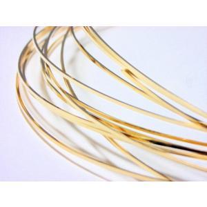 ゴールドフィルド スクエアワイヤー    (12/20KGF) ハーフハード 0.81mm 30cm|beadsshopj4