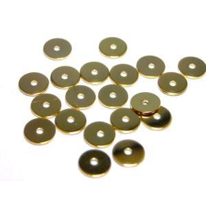 真鍮メタルパーツ5mm (20ヶ)|beadsshopj4