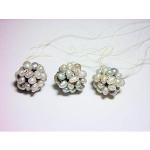淡水パールボール(3ヶ)|beadsshopj4