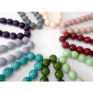 アースカラービーズ 12mm|beadsshopj4