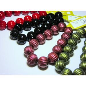 アクリル塗装メロン玉16mm|beadsshopj4