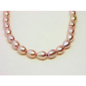ピンク ライス5mm|beadsshopj4
