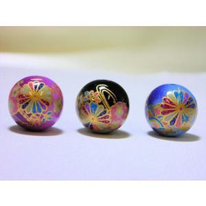 ツートンカラー 丸玉3 16mm|beadsshopj4