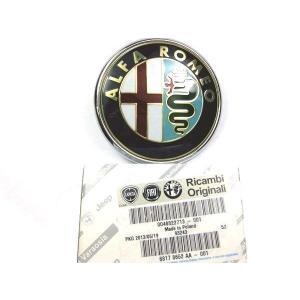 アルファロメオ ALFA ROMEO GT 前期型 リアエンブレム 46822713 純正 パーツ bealre