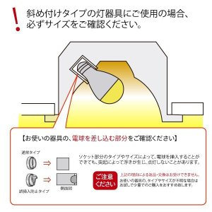 LED電球 E17 ミニクリプトン 25W 相...の詳細画像4