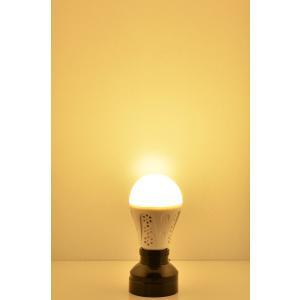 充電式 LED 電球 E26 40W相当 4時間点灯 防災グッズ バッテリ内蔵 一般電球タイプ LDA5L-EMER LED 電球色 485lm|beamtec|04