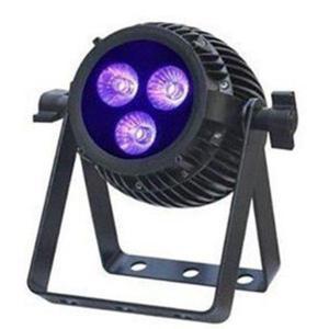 6 in 1 RGBAW UV LED Par dim4テクノロジー IP65 3 x 12W LED ダボ付き 落下防止ワイヤー付き|beamtec