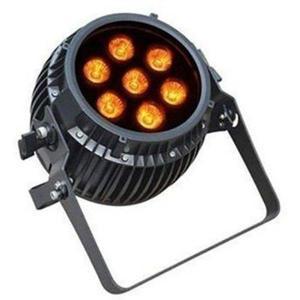 6 in 1 RGBWA UV LED Par dim4テクノロジー IP65 7 x 12W LED ダボ付き バッテリーWireless付き|beamtec