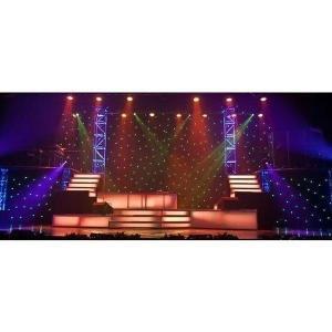 RGB LED幕 RGB LED curtain DMX controller付き|beamtec