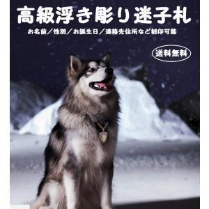 迷子札 犬 名前入り 銅 レア 高級 オリジナル 浮き彫りシリーズ 犬種限定