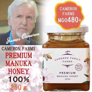 プレミアムマヌカハニー MGO480+ ジェームズキャメロン ニュージーランド産ハチミツ/ 00%天然蜂蜜|beanspot