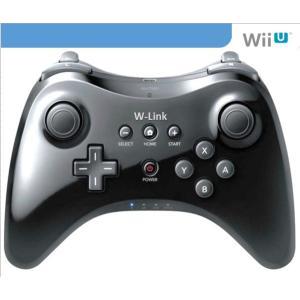 新品 WiiU PRO コントローラ ー クロ ワイヤレス USB充電ケーブル付き 1年保証
