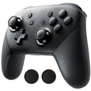 純正のProコントローラーと同じフォルム、ボタン配置でSwitch用ゲームをお楽しみいただけます。グ...
