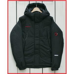 Mammut WS Winterfield Down Jacket Black 0001 / マムート ウィンターフィールド ダウンジャケット ブラック 黒 ゴア ウィンドストッパー|beardstore