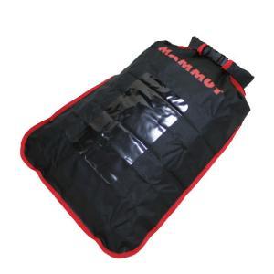 MAMMUT Dry Bag s 10L Black 0001 travel pillow / マムート ドライバック ブラック レッド 防水 窓付きトラベル ポーチ ロールトップ|beardstore