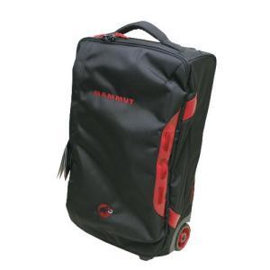 MAMMUT Cargo Trolley 30 Black 0001 roller duffel bag / マムート カーゴ トロリー / ローラーダッフル ブラック トラベル 機内 キャリーバック コロコロ|beardstore