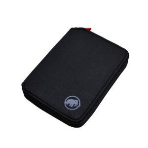MAMMUT Zip Wallet Black 0001 / マムート ジップ ウォレット ブラック|beardstore