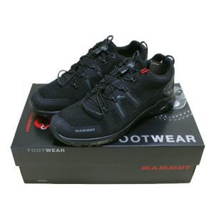 MAMMUT T Aegility Low GTX men shoes hike GORE-TEX Black Black 0052 / マムート ティー アジリティ ブラック|beardstore