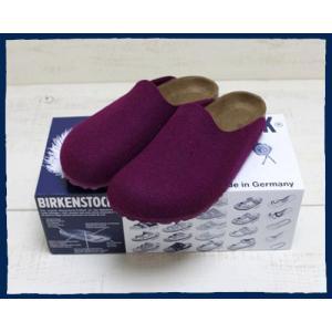 BIRKENSTOCK AMSTERDAM Purple Room Shose / ビルケンシュトック アムステルダム パープル ルームシューズ beardstore