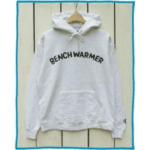 Bony Chops Special Made「 BENCH WARMER 」Pull Parka hood sweat L.H.Grey / ボニーチョップス プリント プルパーカー L.H.グレー|beardstore
