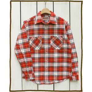 セール!!CAMCO Heavy Weight L/S Flannel Shirts Red Gray White / カムコ ヘビーウエイト フランネル シャツ 長袖 レッド グレー ホワイト 2016 beardstore