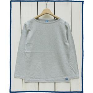 ラスト!!Good On Boatneck L/S Tee M.Grey Washed / グッドオン ボートネック Tシャツ 長袖 M.グレー|beardstore