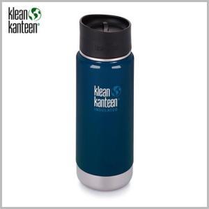 Klean Kanteen Wide Insulated Bottle 16oz Deep Sea / クリーンカンティーン ワイド インスレートボトル ディープシー beardstore