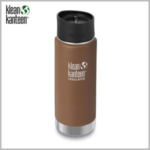 Klean Kanteen Wide Insulated Bottle 16oz Matte Coyote / クリーンカンティーン ワイド インスレートボトル マット コヨーテ beardstore