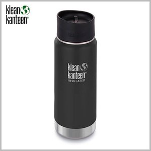 Klean Kanteen Wide Insulated Bottle 16oz Shale Black / クリーンカンティーン ワイド インスレートボトル シェールブラック beardstore