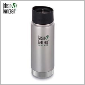 Klean Kanteen Wide Insulated Bottle 16oz Stainless / クリーンカンティーン ワイド インスレートボトル ステンレス beardstore