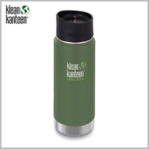 Klean Kanteen Wide Insulated Bottle 16oz Vineyard Green/ クリーンカンティーン ワイド インスレートボトル ビンヤードグリーン beardstore