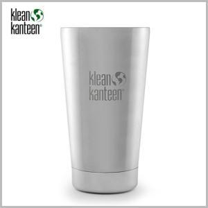 Klean Kanteen Insulated Pint  Cup 16oz Silver / クリーンカンティーン インスレート パイントカップ シルバー beardstore