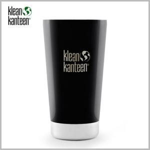Klean Kanteen Insulated Pint  Cup 16oz Shale Black / クリーンカンティーン インスレート パイントカップ シェールブラック beardstore