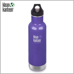 Klean Kanteen Insulated Classic Bottle 20oz Blooming Iris / クリーンカンティーン インスレートクラシックボトル ブルーミングアイリッシュ beardstore