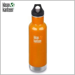 Klean Kanteen Insulated Classic Bottle 20oz Canyon Orange / クリーンカンティーン インスレートクラシックボトル キャニオン オレンジ beardstore