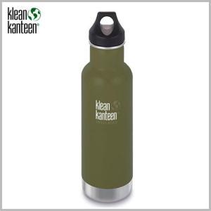Klean Kanteen Insulated Classic Bottle 20oz Fresh Pine / クリーンカンティーン インスレートクラシックボトル フレッシュパイン beardstore