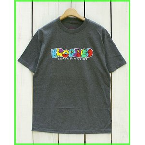 Krooked Spell It Out S/S Print Tee H.Charcoal / クルキッド プリント Tシャツ H.チャコール beardstore