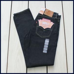 セール!! Levi's 501 ct / Customized & Tapered denim pants Rinse Blue / リーバイス 501CT テーパード デニム パンツ ボタンフライ リンス ブルー beardstore