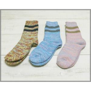 Magon Line Mix Socks / マゴン ライン ミックス ソックス|beardstore