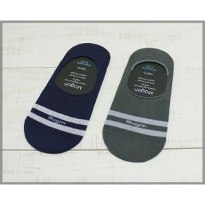 Magon Border Sneaker Socks mens / マゴン ボーダー スニーカー ソックス メンズ|beardstore