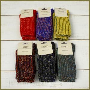 Magon Wool Mix Socks womens / マゴン ウール ミックス ソックス ウィメンズ|beardstore