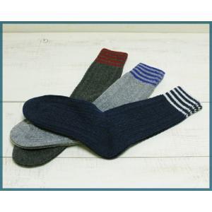 Magon Wool Aran Socks mens / マゴン ウール アランニット ソックス メンズ|beardstore
