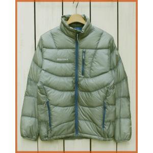 Marmot 1000 Tulok Down Jacket ultralight L.Grey / マーモット1000 フィル テュロック ダウンジャケット ウルトラライト L.グレー|beardstore