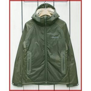 Marmot Polar Night Jacket KHK Khaki polartec alpha / マーモット ポーラー ナイト ジャケット カーキ オリーブ ポーラーテック アルファ|beardstore
