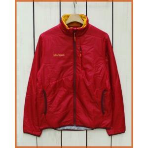 Marmot Polartec Alpha Island Jacket powergrid D.Red / マーモットポーラーテックアルファ アイランド ジャケット D.レッド|beardstore