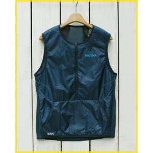 Marmot Polartec Alpha Power Grid Vest pullover ANIN / マーモットポーラーテック アルファ パワーグリッド ベスト アークティック ネイビー インディゴ|beardstore